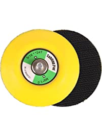 SPTA 3Inch (80mm) M6X1 Thread PU Hook&Loop Backer Backing Pad For Air  Sander And