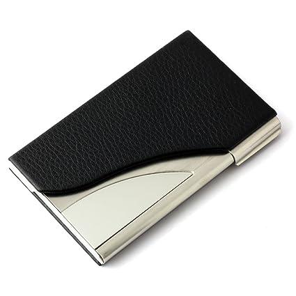 Amazon partstock unisex ultra thin business name card holder partstock unisex ultra thin business name card holder credit card case id case colourmoves