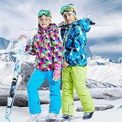 52de34a9d4d1 Amazon.com   LyhomeO Boys Girls Ski Jacket Windproof Waterproof Keep ...