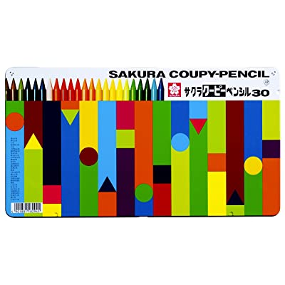サクラクレパス クーピーペンシル 30色