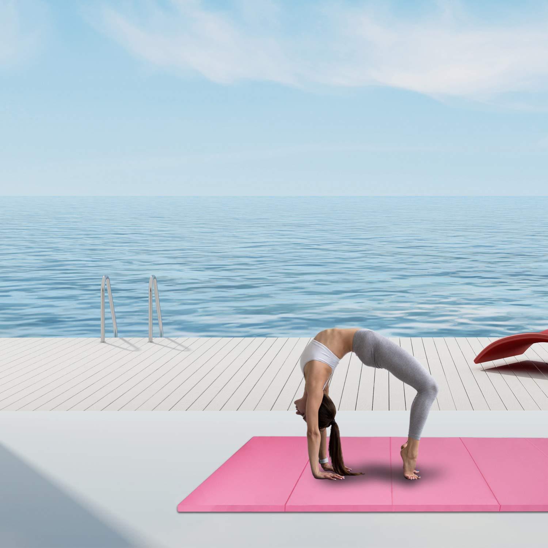 CCLIFE 300x120x5cm Klappbare Weichbodenmatte Turnmatte Fitnessmatte Gymnastikmatte rutschfeste Sportmatte Spielmatte
