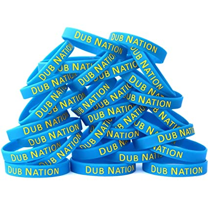 SayitBands 100 Dub Nation Wristband Bracelets