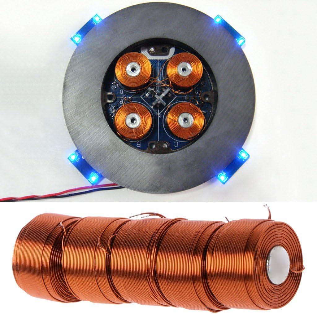BIlinli 5pcs la troisi/ème g/én/ération de la Bobine de Suspension de l/évitation magn/étique de 100 syst/èmes