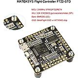 Matek F722-STD Flight Controller F7 216MHZ FC BetaFlight OSD STM32 7PWM/DShot Outputs 32K ICM20602 Gyro for PFV Racing RC Drone Quadcopter