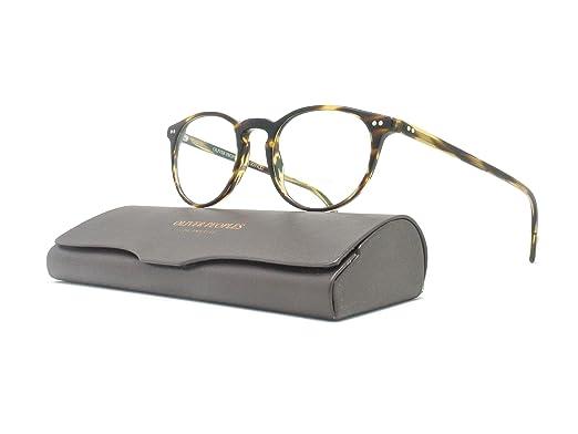 6a5b9ab2ee31 Amazon.com  Oliver Peoples - Riley-R 47 5004 - Eyeglasses (BLACK (BK ...