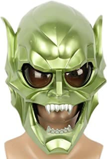 Goblin Mask Deluxe Green Resin Man Halloween Cosplay Costume Prop Xcoser & Amazon.com: Goblin Mask Costume Props for Adult Halloween Cosplay ...