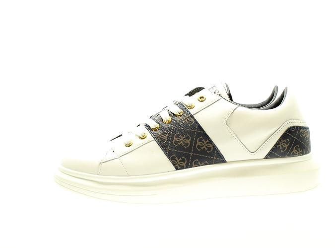 Guess FM5KEA Sneakers in Pelle da Uomo: Amazon.it: Scarpe e