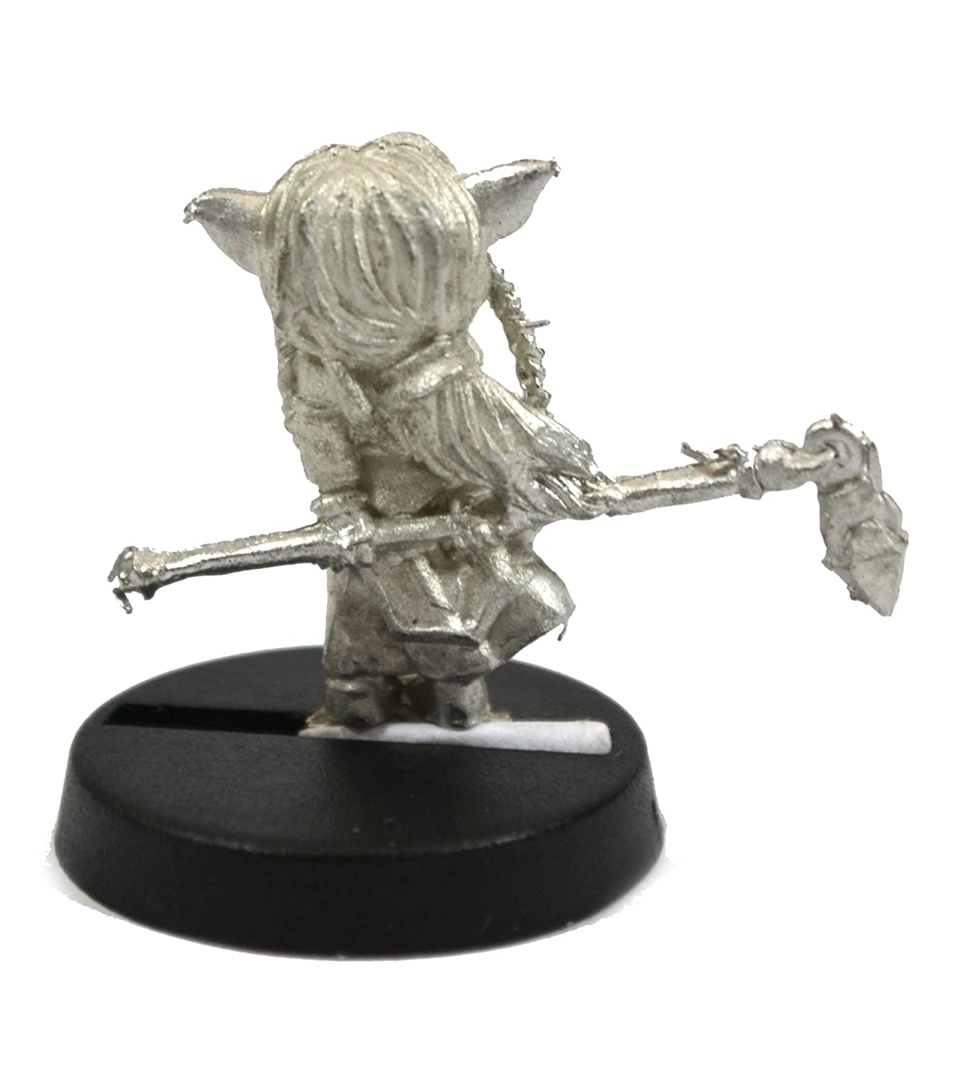 Stonehaven Gnome Cleric Miniature Figure for 28mm Scale Table Top War Games Made in USA Stonehaven Miniatures