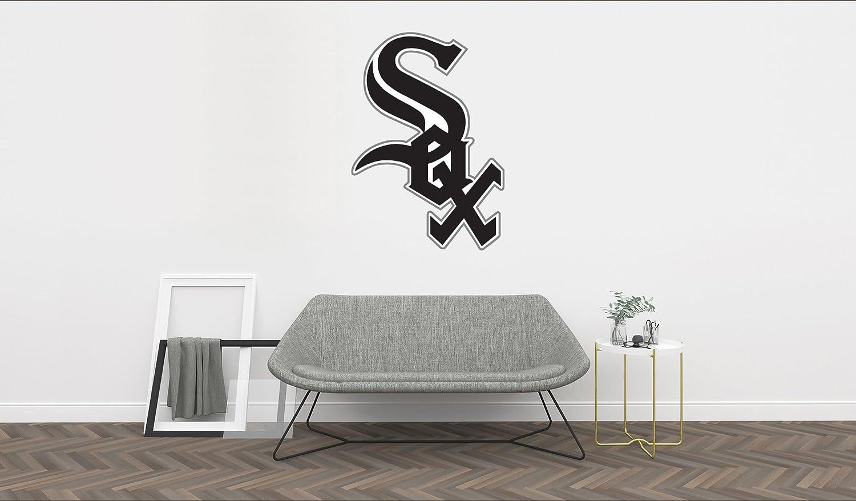 "Ottosdecal Baseball Team - Major League Team Wall Decal Vinyl Sticker for Home Interior Decoration Doors Laptop, Window, Mirror, Car (15"" x 21"")"
