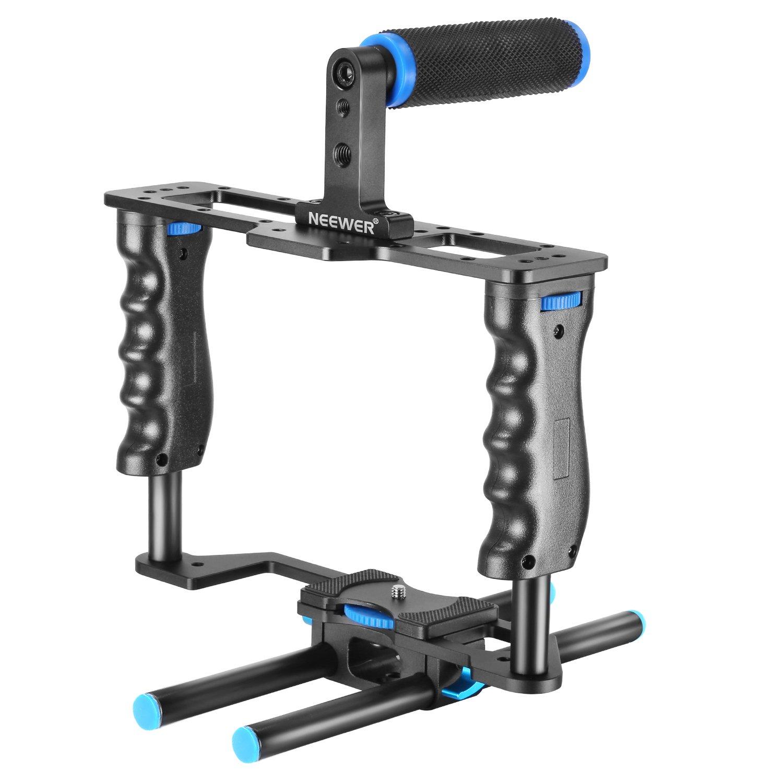 Neewer Aleación de Aluminio Cámera Vídeo Jaula Película Making Kit ...
