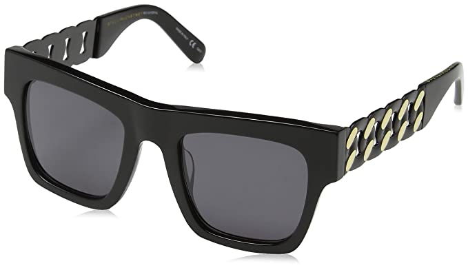 39b8a55e0a Image Unavailable. Image not available for. Color  Sunglasses Stella  McCartney SC 0066 S- 001 BLACK GREY