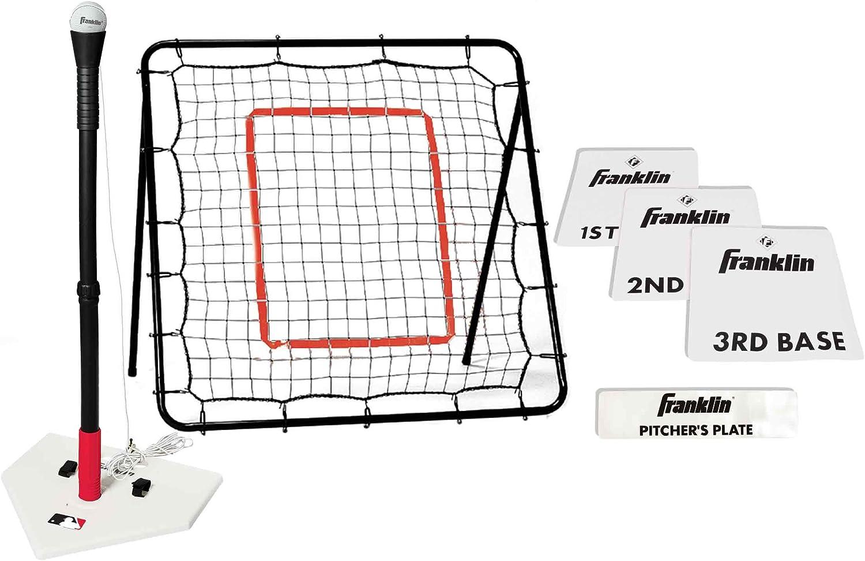 Teeball Starter Set - Bases, Batting Tee y Pitch Back