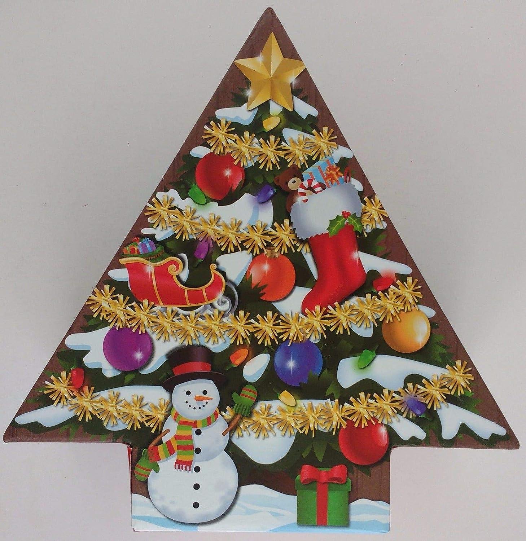 Amazon.com atlanticventures Holiday Tree,Shaped Gift Boxes