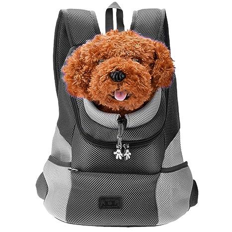 Mogokoyo Mochila cómoda para Perro, Gato, Cachorro, Mascota, Mochila Frontal con diseño