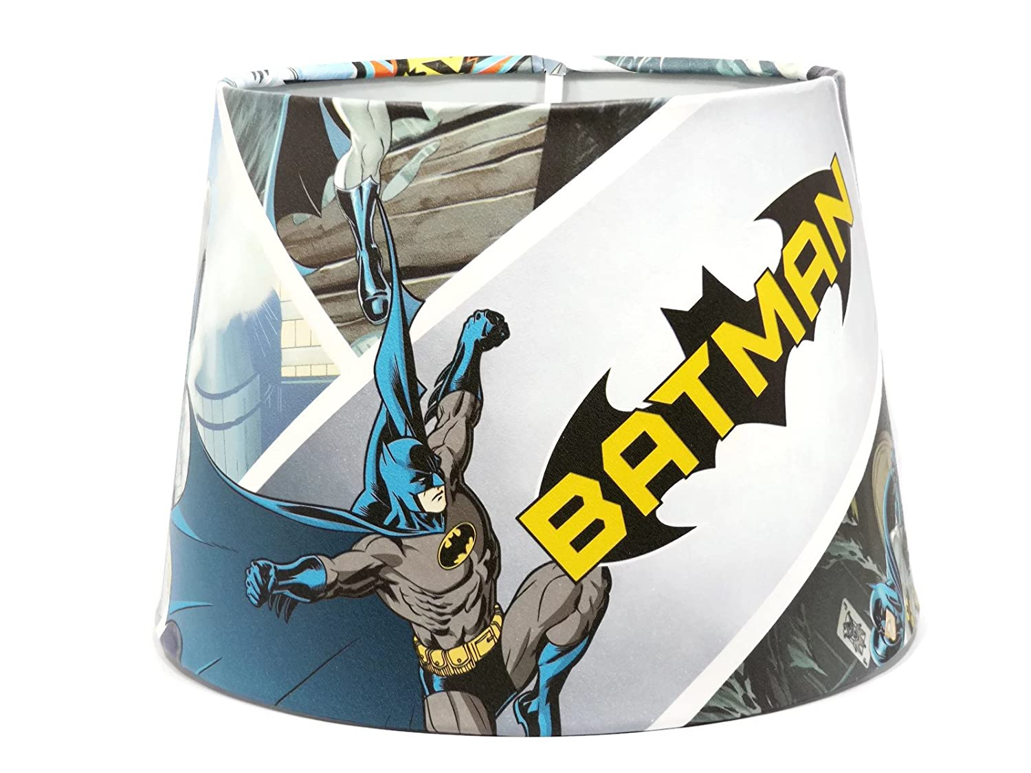 Premier Lampshades Ceiling Batman Childrens Lamp Shades 8 Inch Marvel Boys Lampshade Light Shade Joker Penguin Bedroom Accessories Gifts Comic 95