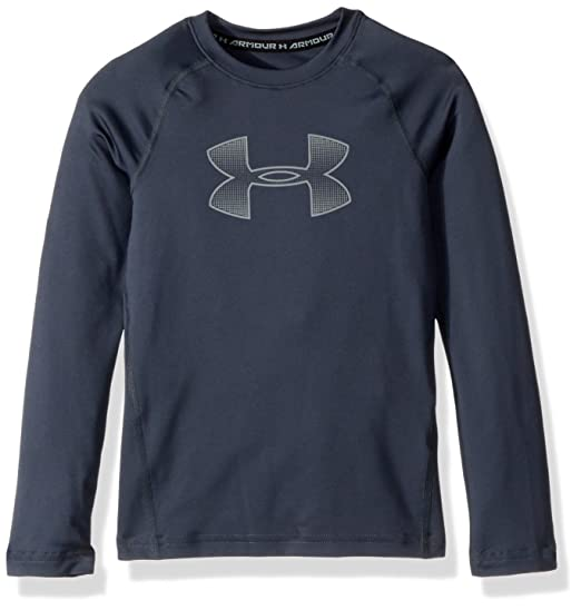 0dfecf10 Amazon.com: Under Armour Boy Long Sleeve (Big Kids): Clothing
