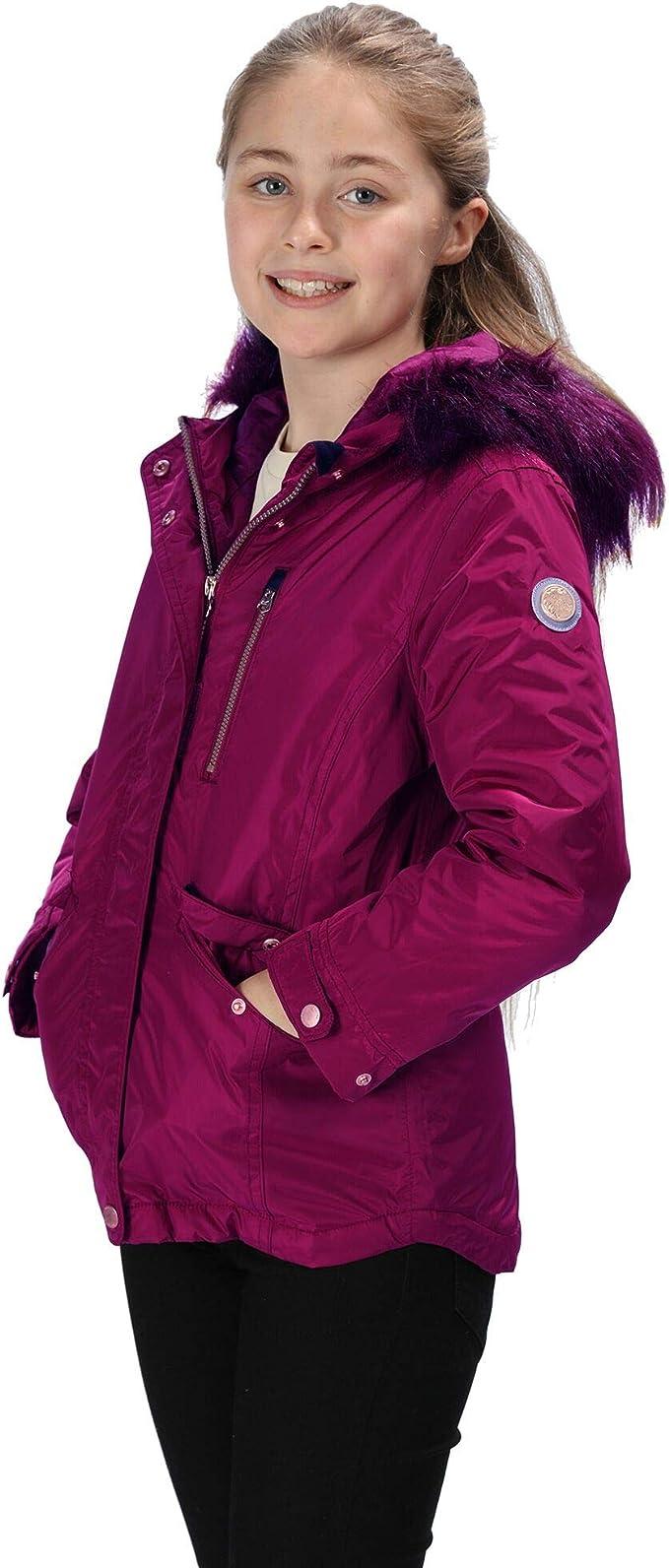 Regatta Kid's 'Palomina' Waterproof Insulated Hooded Jacket,Regatta