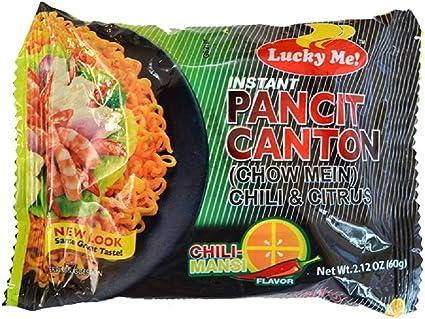 Amazon | LUCKY ME! PANCIT CANTON CHILIMANSI インスタント ...