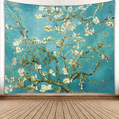 EmyTock Wall Hanging Tapestry,Vincent Van Gogh Art Oil Painting Tapestry for Bedroom Living Room Dorm Home Decoration Art