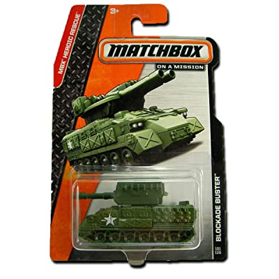 2014 Matchbox MBX Heroic Rescue - Blockade Buster: Toys & Games
