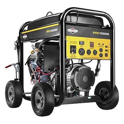 Amazon.com: Briggs & Stratton Generador de 10.000 W, Pro ...
