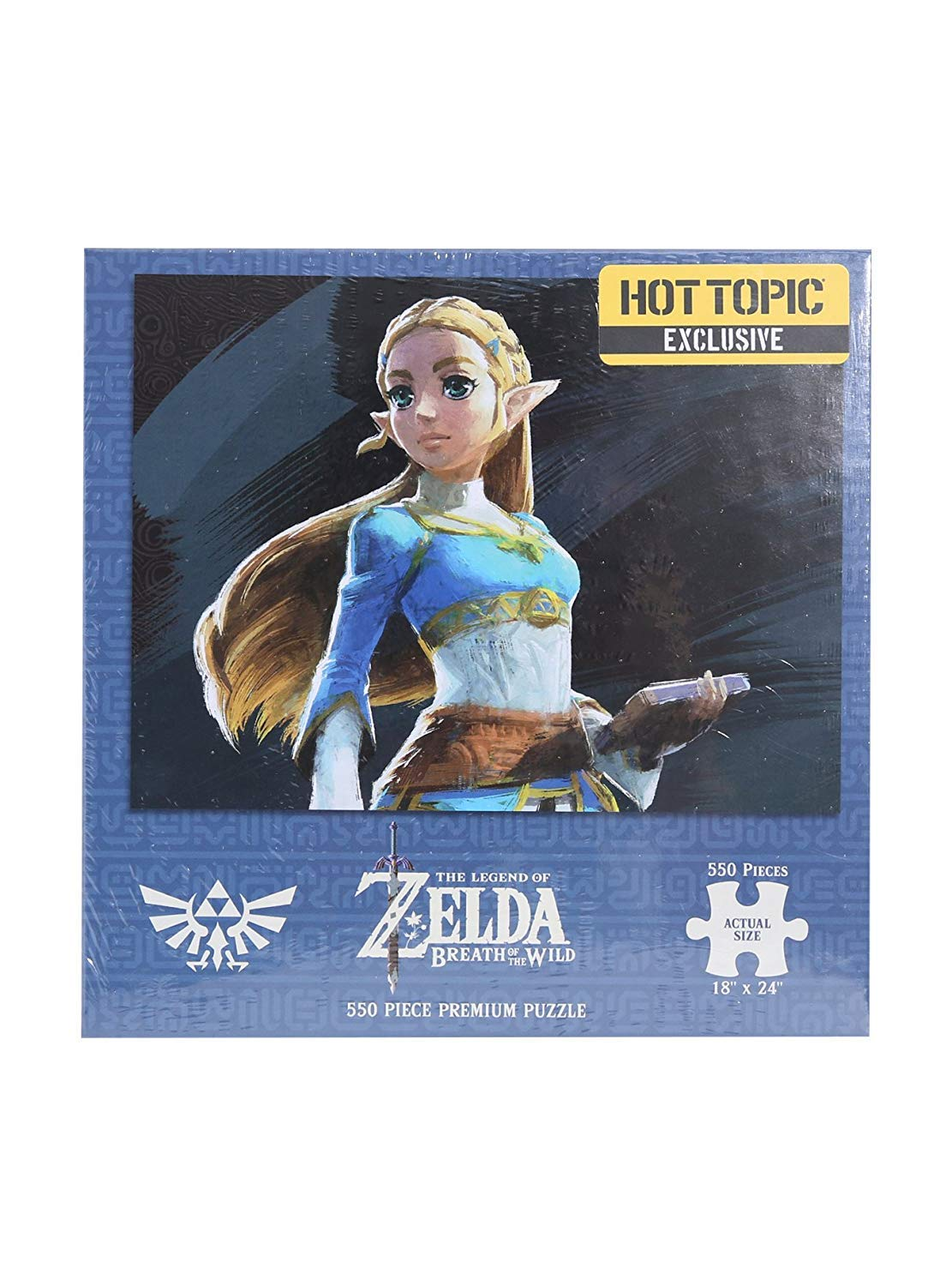 Breath Of The Wild Princess Zelda Hot Topic Exclusive Puzzle USAopoly SG/_B075PZVYBX/_US The Legend of Zelda