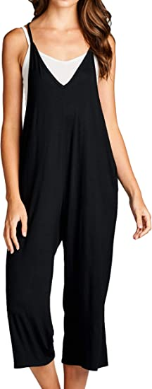Loving People Loose Fit Jumpsuits For Women Casual Capri Jumpsuit Jumpers Rompers Comfortable Soft Maternity Clothes Amazon Ca Clothing Accessories