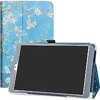 """LFDZ Teclast P80 PRO Custodia, Slim Ultra Pelle Sottile e Leggera Cover Case Custodia per 8.0"""" Teclast P80 PRO Tablet,Almond Blossom"""