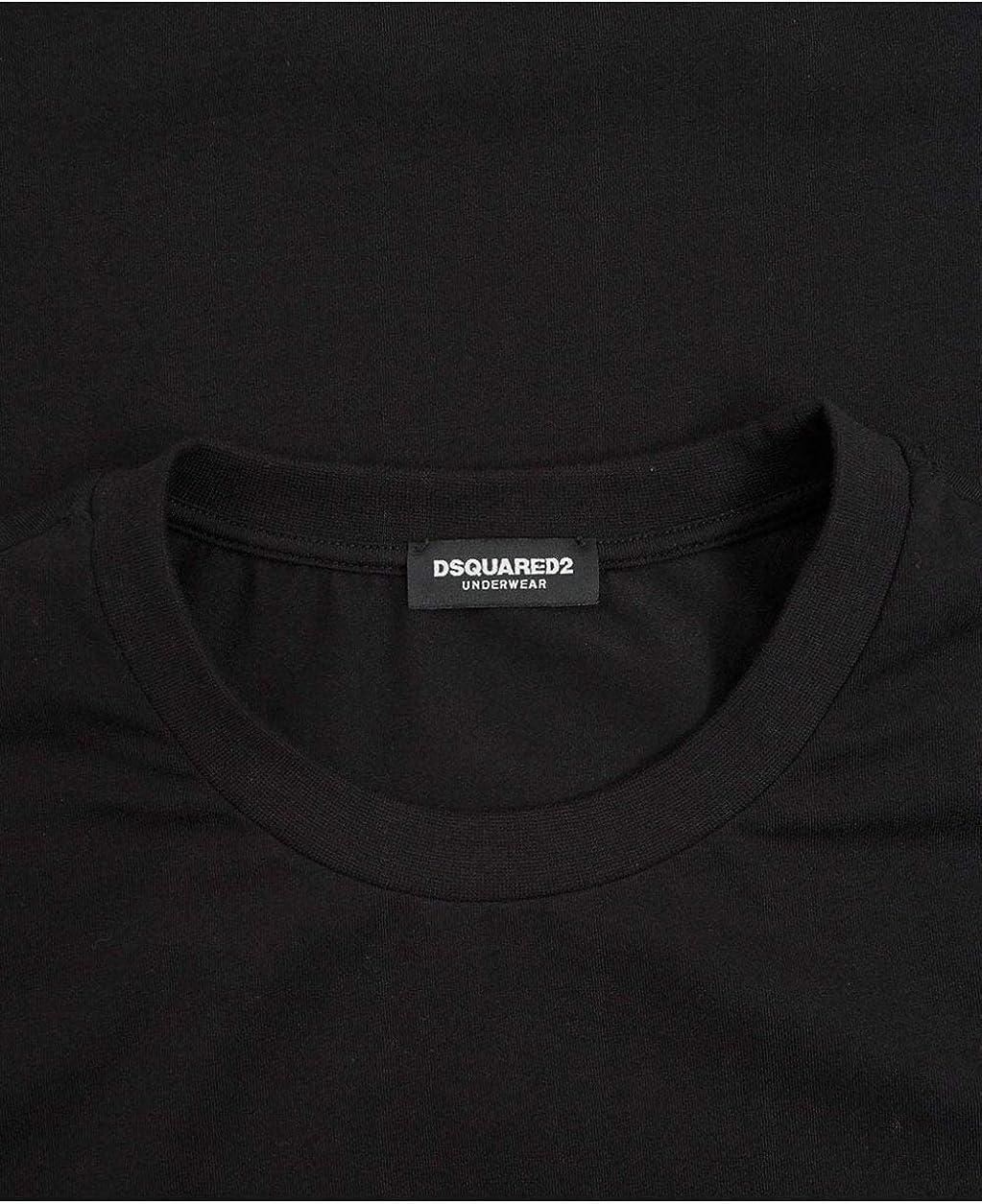 Dsquared2 Loungewear Cuff Taped Logo T-Shirt XL Black