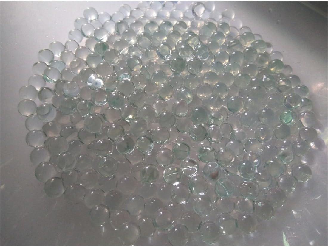 ECYC 200 Pcs Transparent Boules De Verre Perles pour Fish Tank Pot De Fleurs Et Jardinage L/âChe Vase Vase Filler 10mm