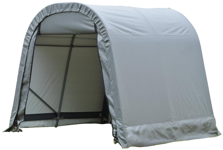 ShelterLogic 76813 Grey 8x12x8 Round Style Shelter