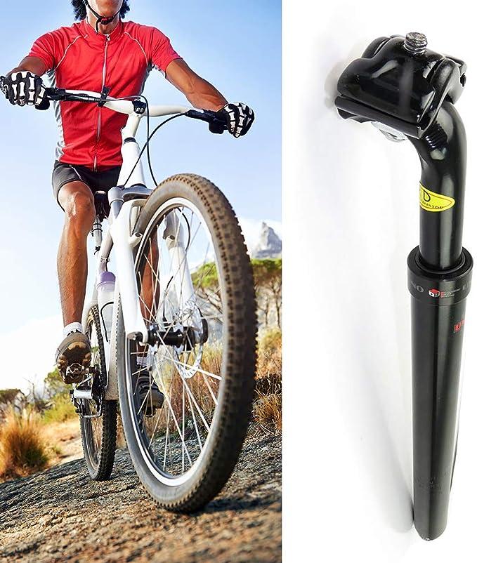 YGQersh Tija de sillín de suspensión de Bicicleta de montaña de ...