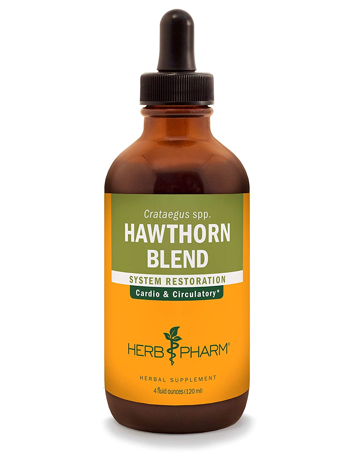 Herb Pharm Hawthorn Blend Liquid Extract for Cardiovascular and Circulatory Support – 4 Ounce