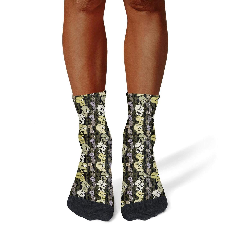 Tasbon Migny Hills Mens All-Season Sports Socks Cool Skull Art Athletic Socks for Men