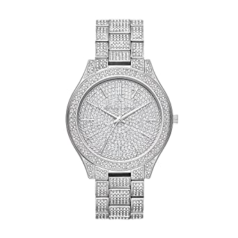 e791eb81e55d Image Unavailable. Image not available for. Color  Michael Kors Watches  Womens Slim Runway ...