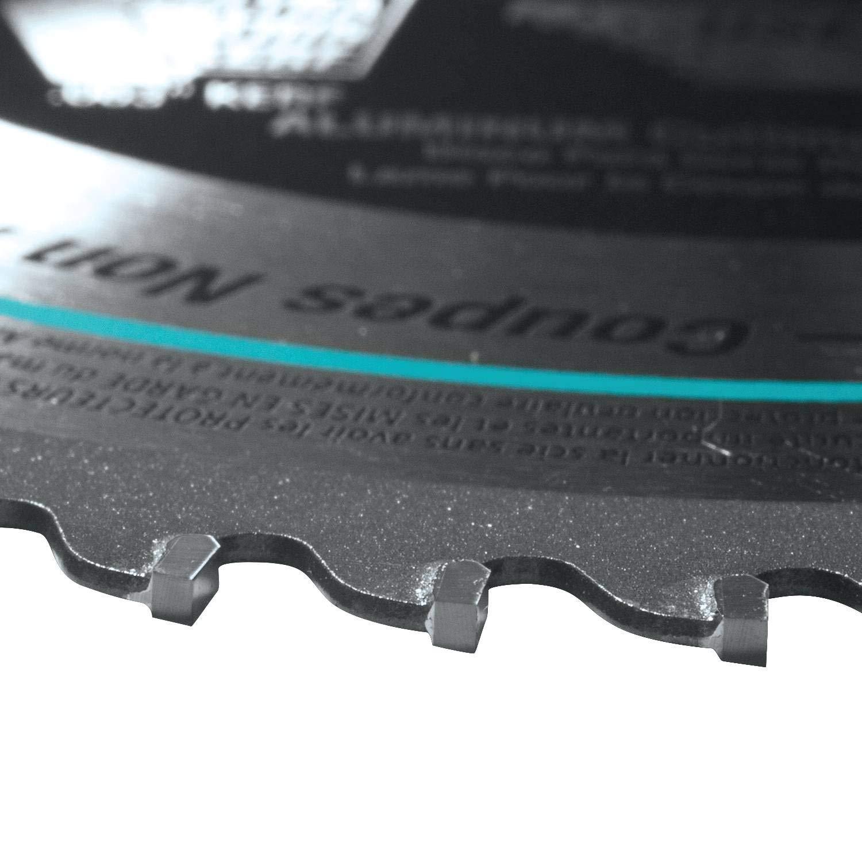 0 voltsV hoja de sierra Makita a-96095/Metal//uso general dientes carburo B-47189 multicolor
