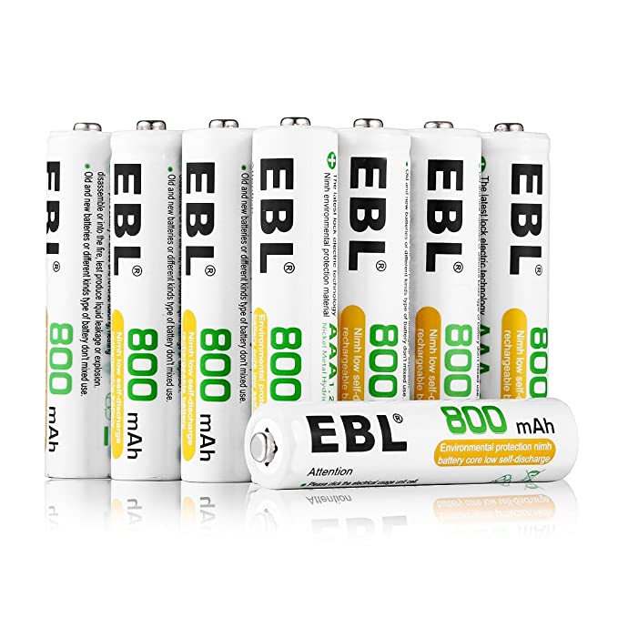 Review EBL AAA Rechargeable Batteries