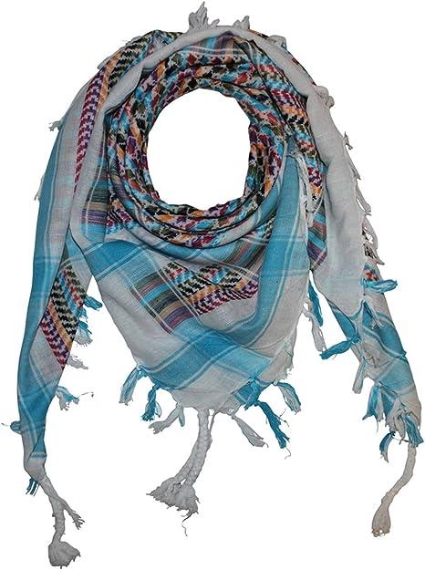 in tutti i colori e batik Freak Scene Foulard kefiah palestinese 100/% cotone/° multicolor 100x100 cm