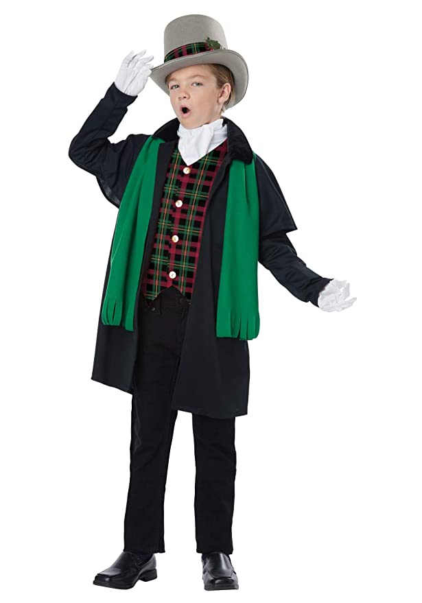 Victorian Kids Costumes & Shoes- Girls, Boys, Baby, Toddler California Costume Holiday Caroler Boy Costume $29.95 AT vintagedancer.com
