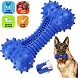Dog Toys for Large Dogs Aggressive Chewers Dog Toothbrush Chew Toy Molar Toys, Product Weight 1000g, Durable Natural Rubber Teeth Cleaning Dog Bite Chewing Toys Treat Dispensing FDA Food Grade