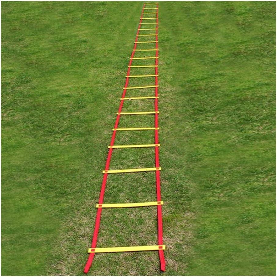 Equipo Fútbol Escalera de Formación de Fútbol 10 m 20 Sección: Amazon.es: Deportes y aire libre