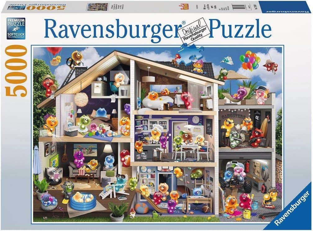 Ravensburger-17434 Gelini - Puzzle (5000 Piezas), Multicolor (17434): Amazon.es: Juguetes y juegos