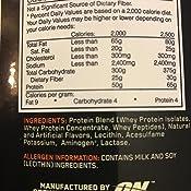 Amazon Com Optimum Nutrition Gold Standard 100 Whey