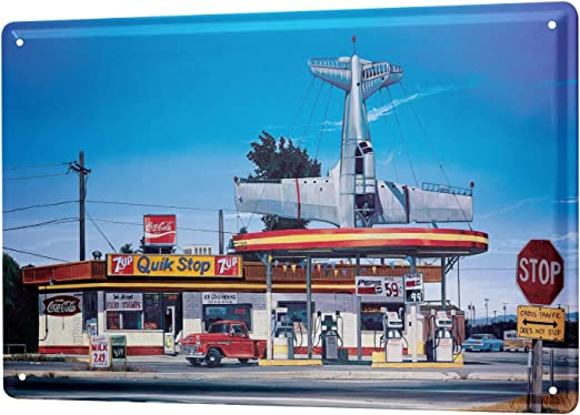 Blechschild 30x40 cm American Diner