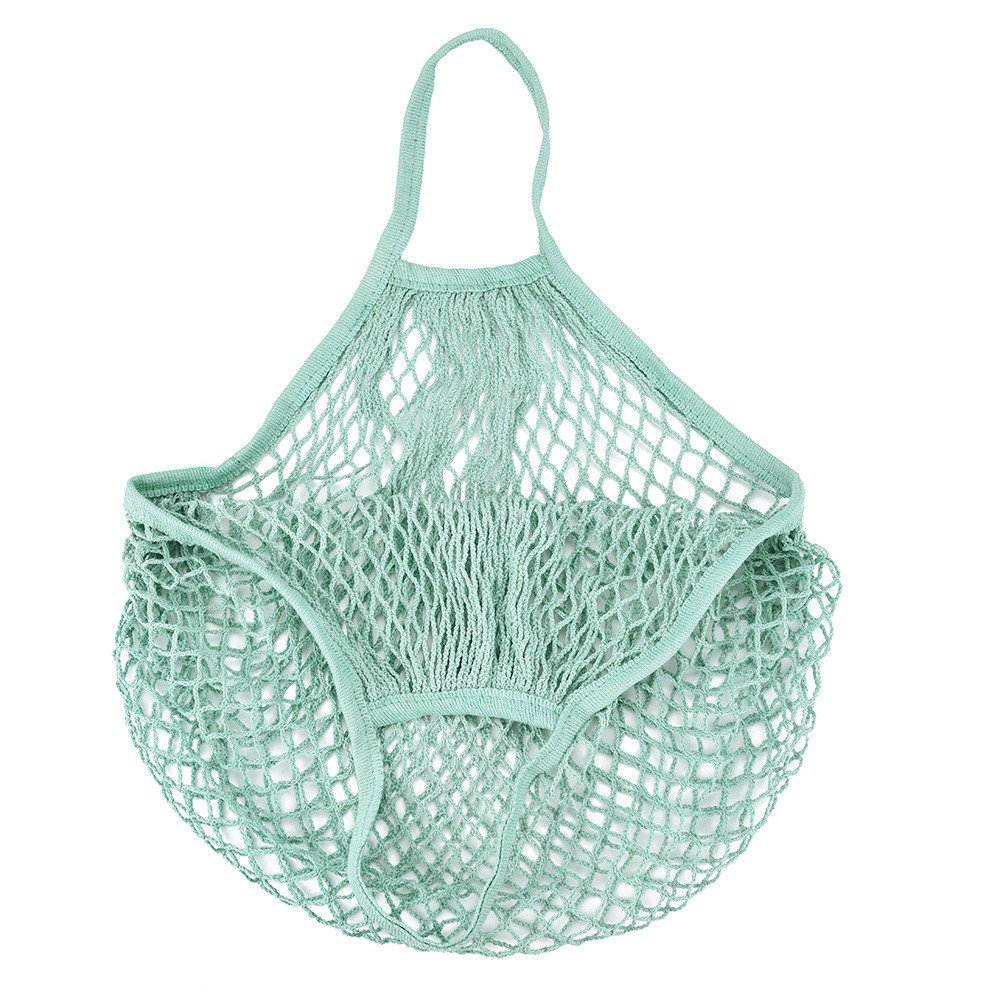 Wall of Dragon Mesh Net Turtle Bag String Shopping Bag Reusable Fruit Storage Handbag Totes New reusable produce bags