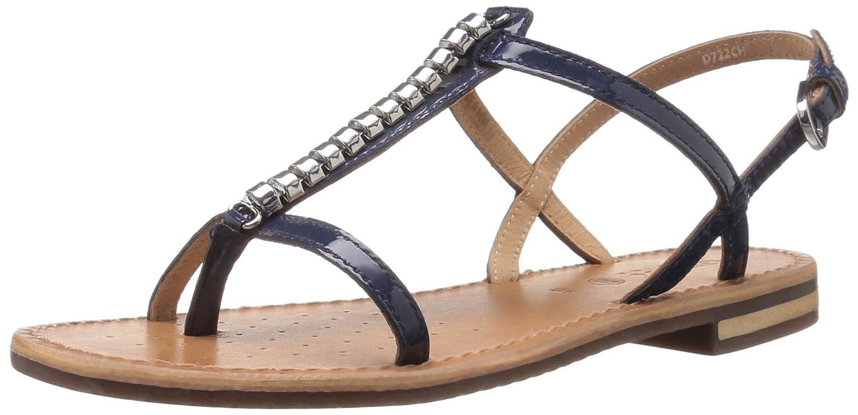 Geox Women's W Sozy 19 Dress Sandal B01N5XQJBF 39.5 M EU / 9.5 B(M) US|Navy
