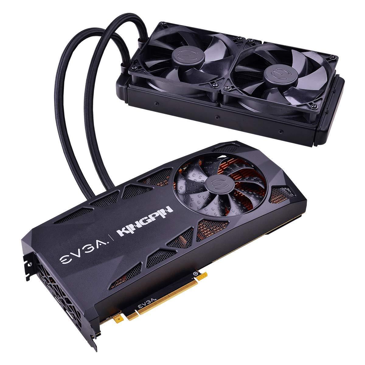 EVGA GeForce RTX 2080 Ti K NGP N Gaming, 11GB GDDR6, iCX2 Technology,  Hybrid Cooler, OLED Display, Metal Backplate, 11G-P4-2589-KR