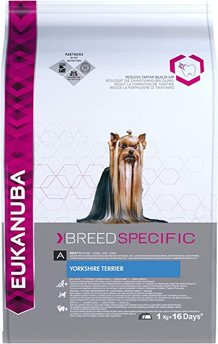 Oferta amazon: Eukanuba Alimento seco para perros adultos Yorkshire terrier 1 kg