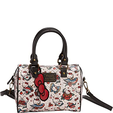 e06b2f5a05 Loungefly Hello Kitty Tattoo Print Cross Body Handbag  Amazon.co.uk   Clothing