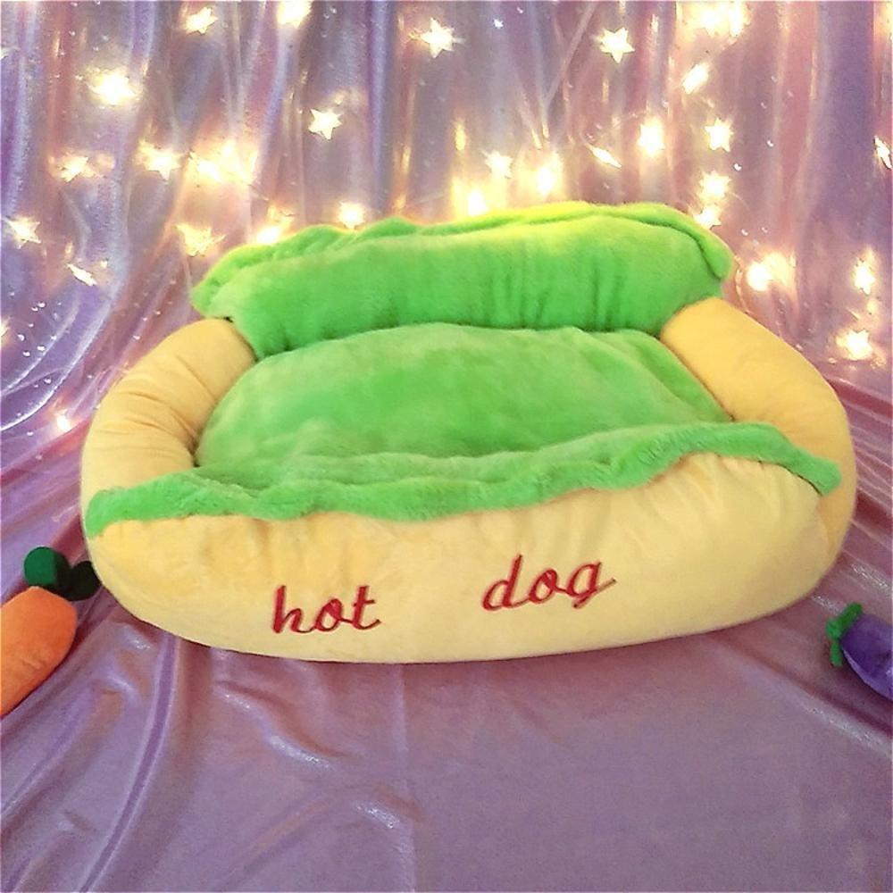 72cm62cm23cm YunYilian Pet Bolster Dog Bed Comfort Hot Dogs, pet Supplies, Cat's nest (Size   72cm62cm23cm)